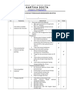 Form Checklist Pengelolaan Makanan
