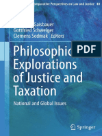 (Ius Gentium_ Comparative Perspectives on Law and Justice 40) Helmut P. Gaisbauer, Gottfried Schweiger, Clemens Sedmak (Eds.)-Philosophical Explorations of Justice and Taxation_ National and Global Is