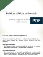 Resumo Politicas Pública Ambientais