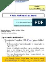Vazao Ambiental No Brasil