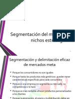 2 Segmentación, delimitación y posicionamiento