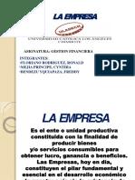 La Empresa Diapositivas