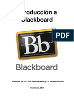 Introducción a Blackboard
