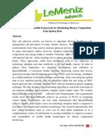 Speech2Health a Mobile Framework for Monitoring Dietary Composition From Spoken Data