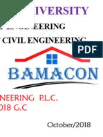 Ethiopia Civil Engineering Internship Final Report