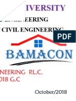 Ethiopia Civil Engineering Internship Final Report