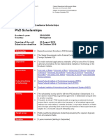 PhD Guidelines for Swiss Scholarship