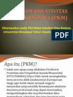 Presentasi Pkm Pk2 Fix
