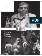 Antonio Muñoz Molina, escritor y jazzman