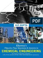 Download Chemical Engineering Objective Questions by OP Gupta PDF