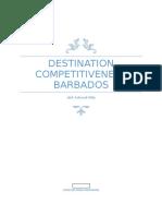 Final Exam - Destination Competitiveness - Barbados Tourism