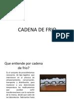 Cadena de Frio (1)