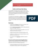 Docker consul service discovery.pdf