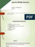 15 App Components Part 4
