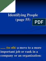2. Vocab.identifying People