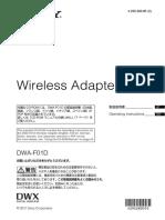Digital Wireless Adaptor for DWX System