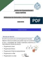 Investigación Operativa PL y Método Gráfico Clase 2(3)