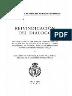 D14 REIVINDICACION DEL DIALOGO, LEEDLO DESPACIO e intentad un pequeño esquema sobre la estructura del mismo en una hoja.pdf