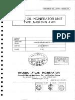 Maker Final Dwg & Instr. Manual for Waste Oil Incin. Unit