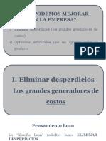 Mejoras en La Empresa - Desperdicios (12.09.2016)