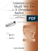 Drunken Sailor (Tenor,Bass,Keyboard)