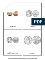 Monedas Nomenclatura Montessori