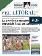 El Litoral Mañana 03-11-2018