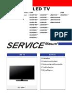 Samsung UE 26-58 EH-ES 26-58 Shasis U78a U78b