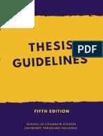 UTM thesis manual 2018