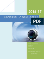 Bionic Eye-A New Look of the World_v 2