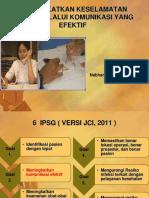 2 Meningkatkan Keselamatan Pasien Melalui Komunikasi Yang Efektif