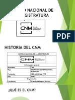 Consejo Nacional de La Magistratura (Diapo) Expo