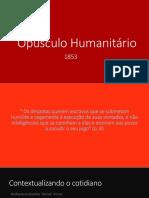 Opúsculo Humanitário