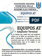 Equipos de Adaptador Terminal (at)