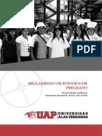 Reglamento de Estudios de Pregrado 2017 21-12-17 1