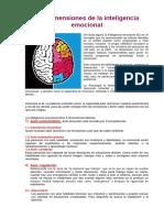 Las Dimensiones de La Inteligencia Emocional