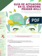 Guía de actuación en el Síndrome de Prader Willi