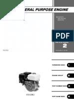 Honda General Pursone Engine Serie Gx120t1 (Igc01-430-9101 Igc01b-1001 13zk7402