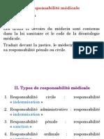 Responsabilité Médicale