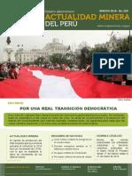 Boletin Actualidad Minera Del Perú Marzo 2018
