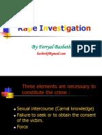 Forensik - Rape Investigation