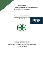 Cover Pengelolaan SDM