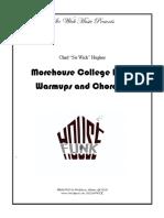 Band Warmups:Chorales