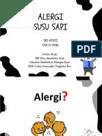 Ppt Alergi Susu Sapi