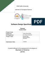 Software Design Specifications v1 (1)