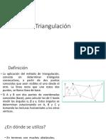 Triangulacion Con Estacion Total