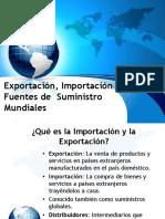 S4 Importaciones Exportaciones Suministros Globales