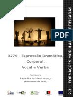 Manual 3279 - Expressão Dramática