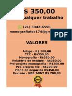 O valor é  R$ 349,99 POR qualquer  TCC OU MONOGRAFIA WHATSAPP (21)974111465    (71)--.pdf