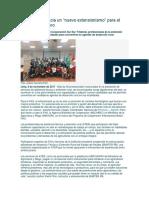 Perú Avanza Hacia Un